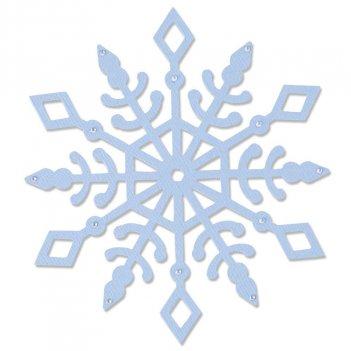 Fustella Bigz Cristallo Di Neve SIZZIX 664464