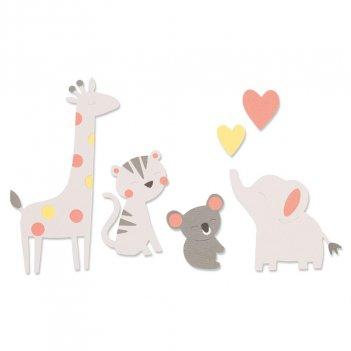 Fustella Bigz Amici dello Zoo SIZZIX 663863