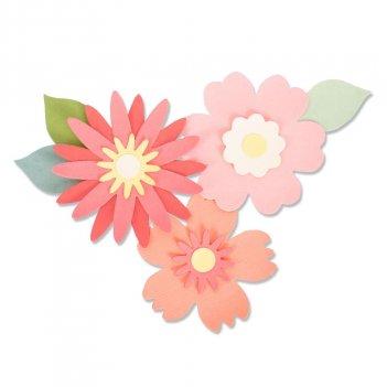 Fustella Bigz Bold Blossoms SIZZIX 663849