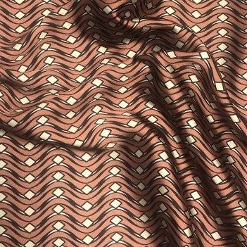 Tessuto Rasetto Stampato Digitale Altezza 150cm 8011