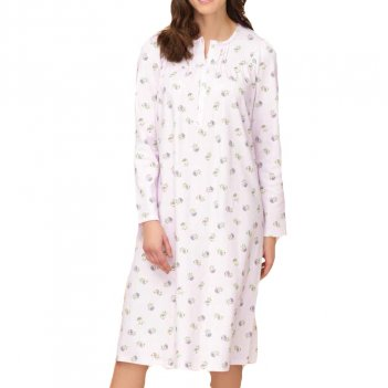 Camicia Da Notte Donna Serafino Raglan Manica Lunga LINCLALOR 92745