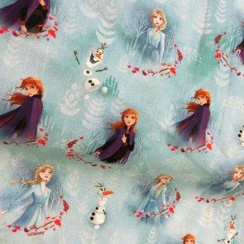 Tessuto Cotone Stampato Disney Altezza 150cm 6015