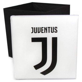 Pouf Contenitore Juventus 31x31x33cm