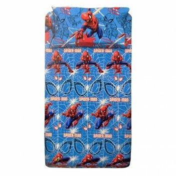 Completo Lenuzola Letto 1 Piazza e Mezzo Spiderman