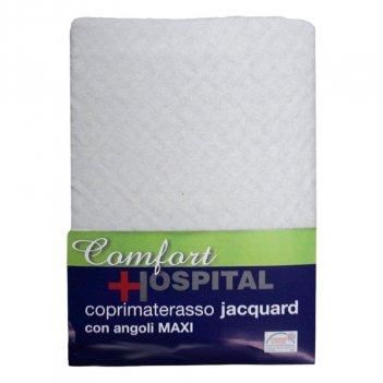 Coprimaterasso 180X200 Jacquard Con Angoli Matrimoniale