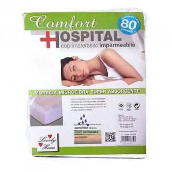 Coprimaterasso 170X200 Impermeabile Con Angoli Matrimoniale Comfort Hospital