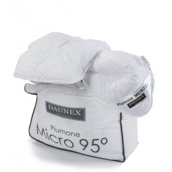 Piumino 200X200 Micro 95° 4 Stagioni DUO DAUNEX Anallergico 1 Piazza e Mezzo