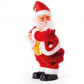 Babbo Natale Che Balla Muovendo Il Sedere