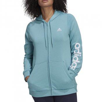 Felpa con cappuccio Essentials Logo Full-Zip (Taglie forti) Donna ADIDAS H07754