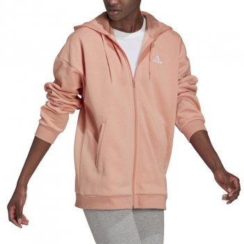 Felpa con cappuccio e zip Essentials con logo piccolo Donna ADIDAS H10179