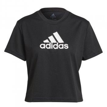 T-shirt AEROREADY Designed 2 Move Logo Sport Cropped Donna ADIDAS GL3830