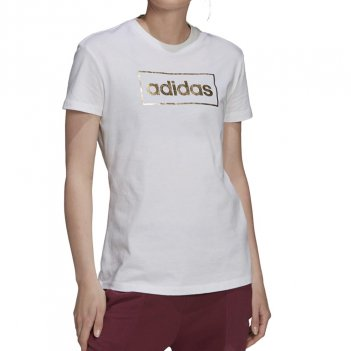 T-Shirt con grafica Foil Box Donna ADIDAS H14693