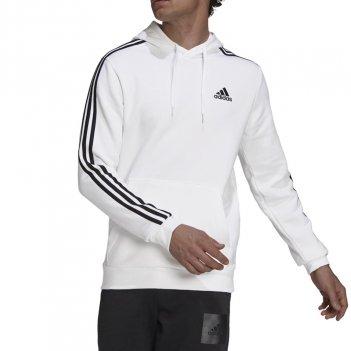 Felpa con cappuccio Essentials Fleece 3-Stripes Uomo ADIDAS GU2522