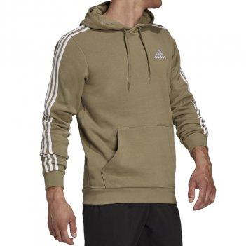 Felpa con cappuccio Essentials Fleece 3-Stripes Uomo ADIDAS H12176
