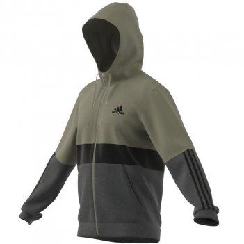 Felpa con cappuccio Essentials Fleece Full-Zip Uomo ADIDAS H64179