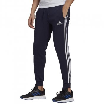 Pantaloni Essentials Fleece Fitted 3-Stripes Uomo ADIDAS GM1090