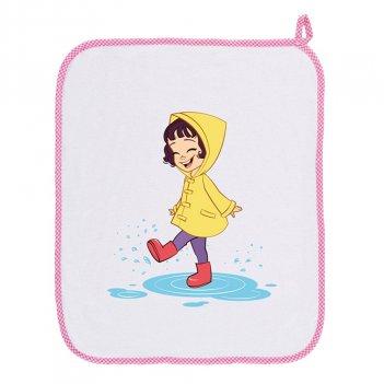 Asciugamano Asilo 34AS0156/00-9006 Bambina