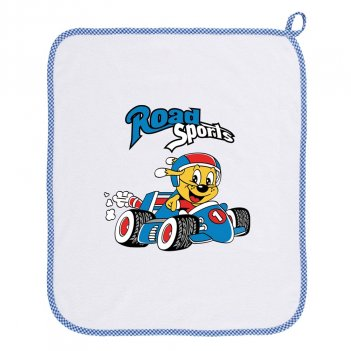 Asciugamano Asilo 34AS0157/00-9006 Road Sports