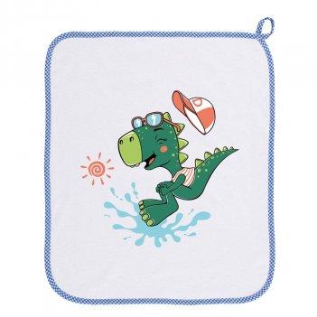Asciugamano Asilo 34AS0158/00-9006 Dinosauro