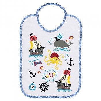 Bavaglino Asilo 34BV0182/00-9006 Let s Go For A Sail