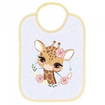 Bavaglino Asilo 34BV0183/00-9006 Giraffa