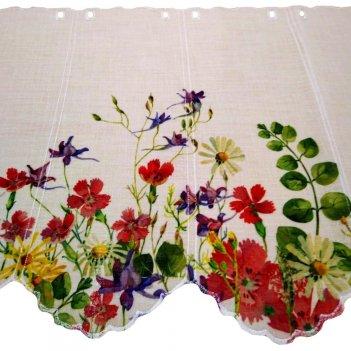 Tenda A Metraggio Altezza 210cm Semi Filtrante Digital Flower